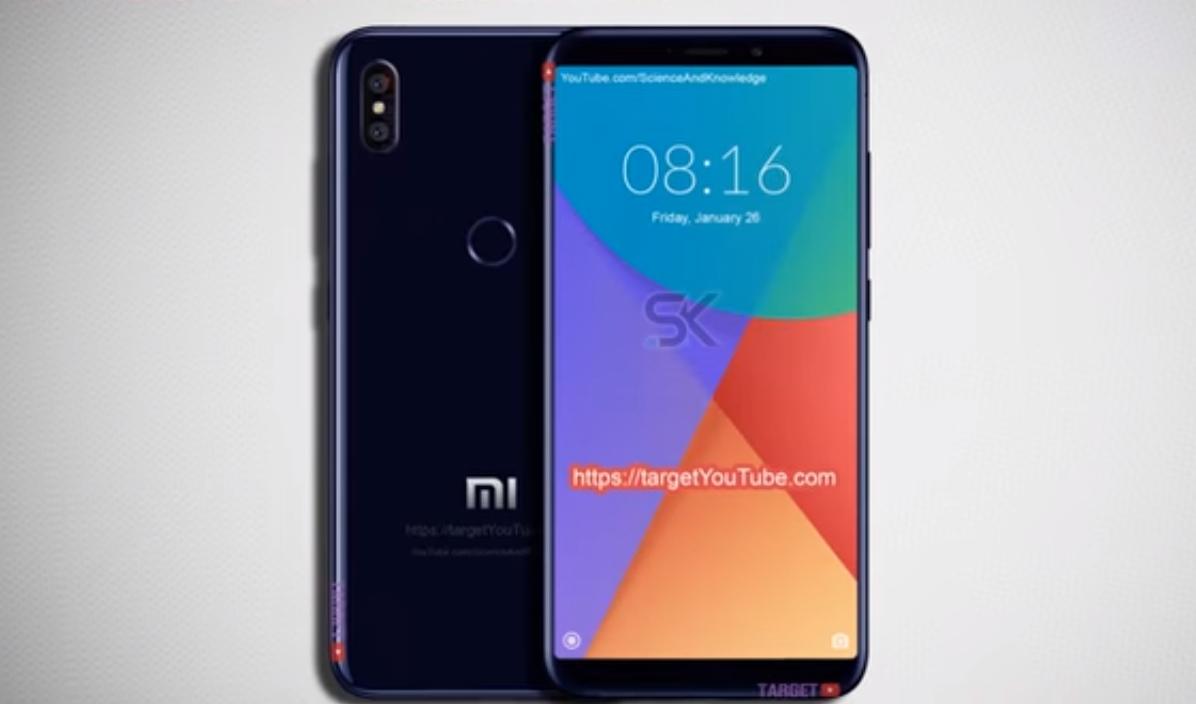 Xiaomi Mi 6X - самый тонкий смартфон, показывает полноэкранный дизайн,  двойную камеру, как iPhone X